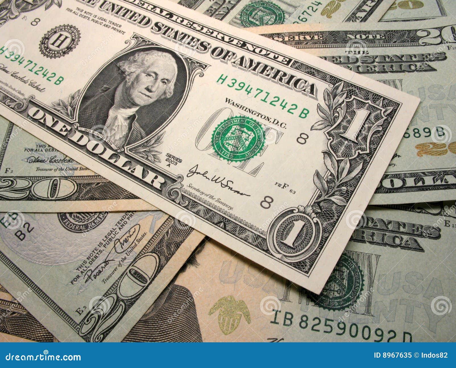 De Dollars van de V.S.