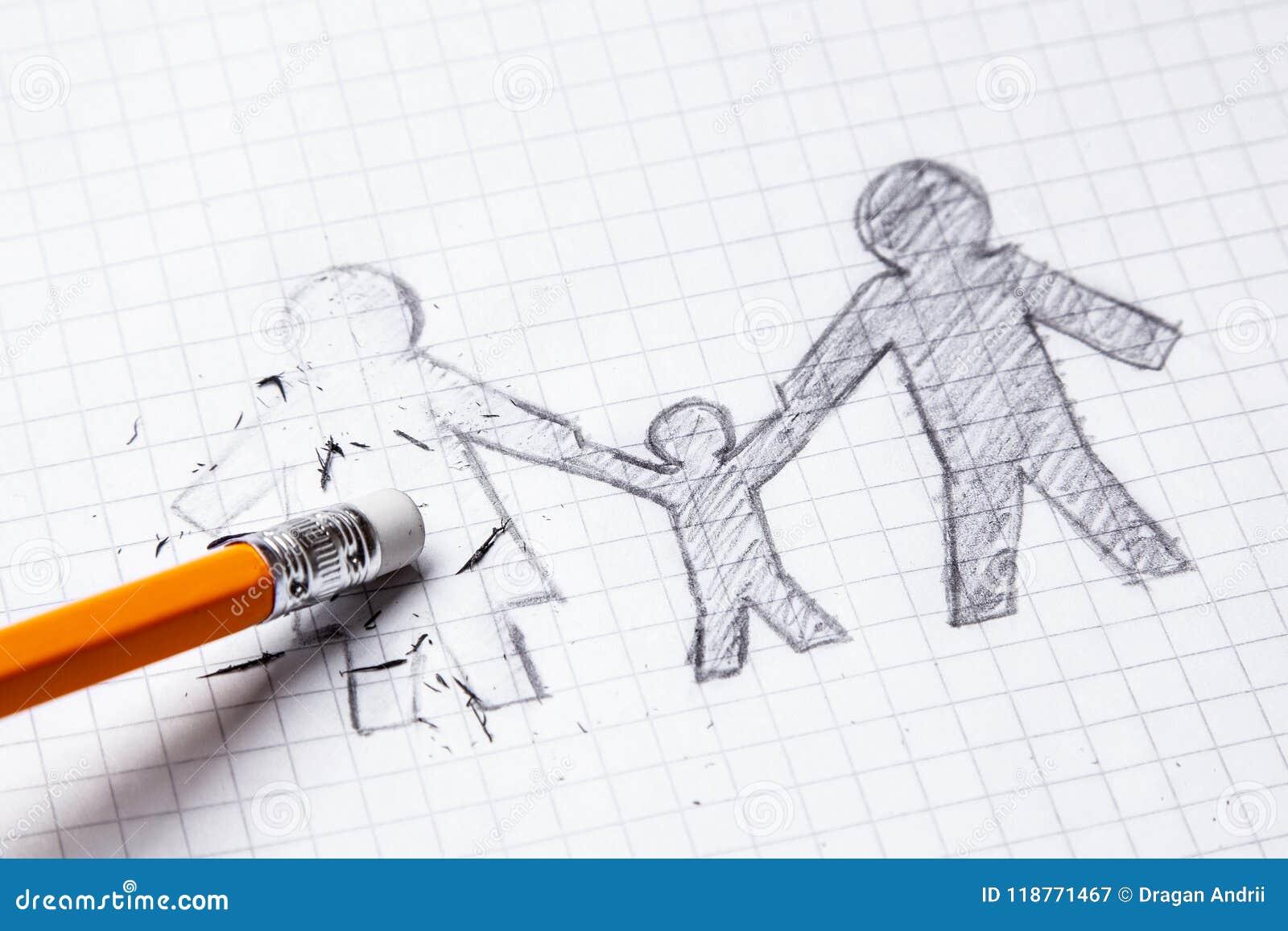 De dood van gehouden van één is zijn vrouw, weduwnaar Verlies van gehouden van  Scheiding en het breken van relaties Enige vader
