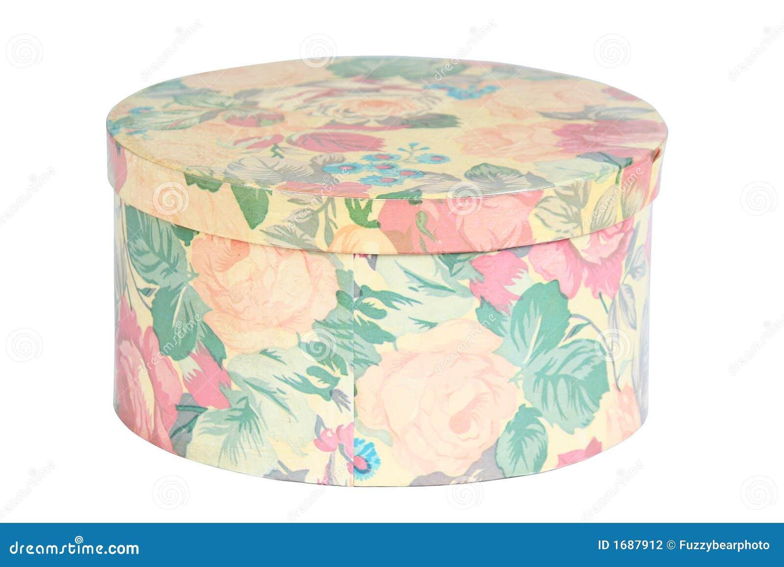 De doos van de hoed