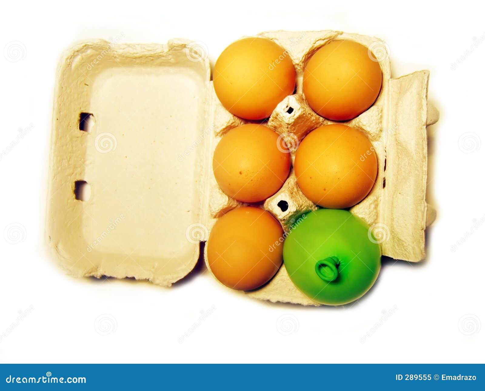 De doos van het ei