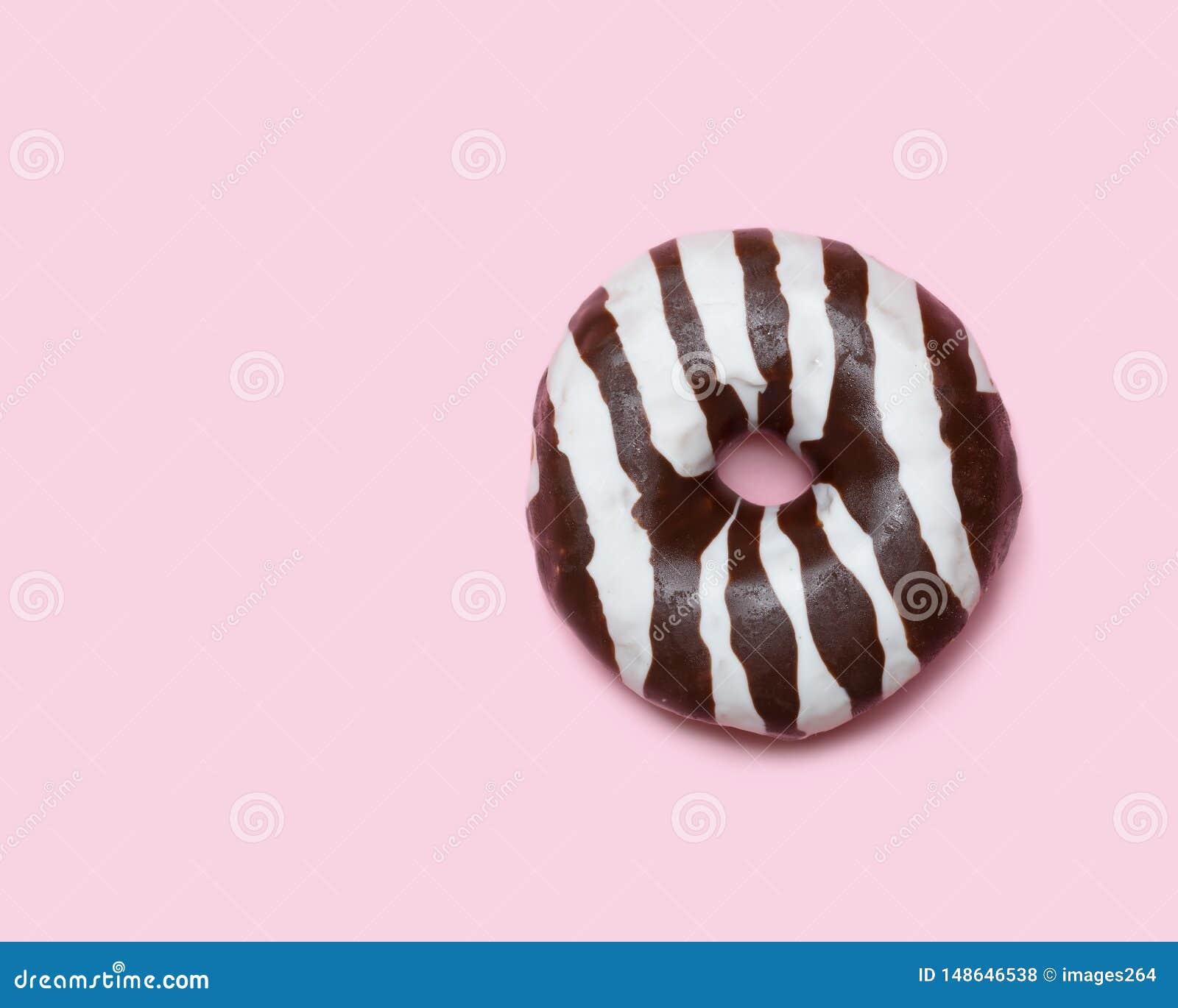 De doughnut van de chocolade