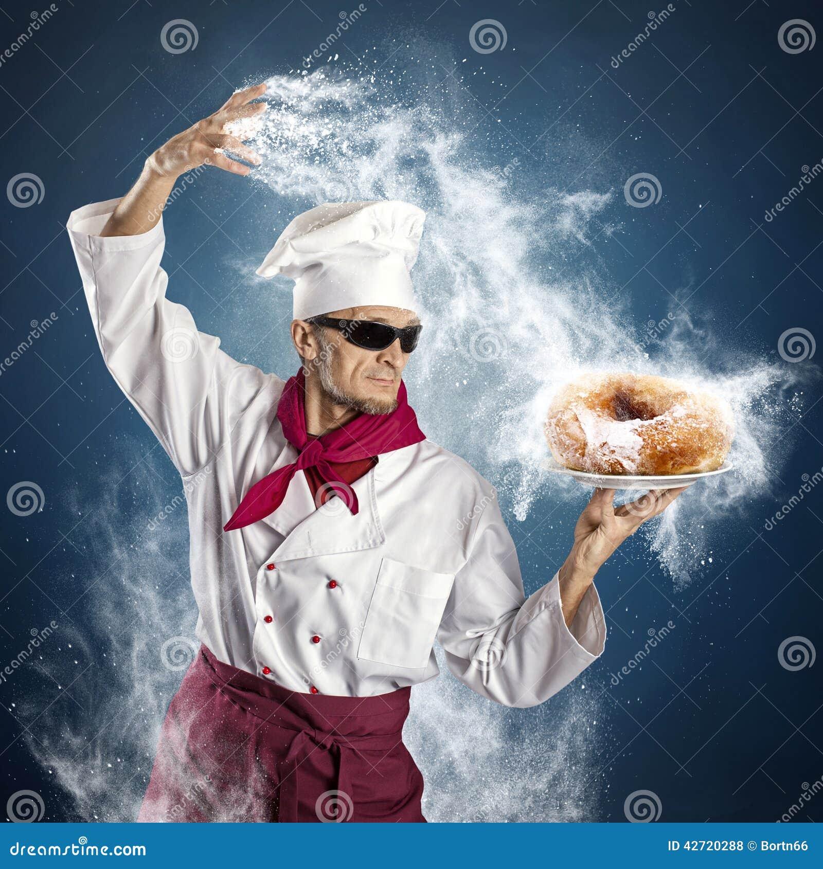 De doughnut van de suiker