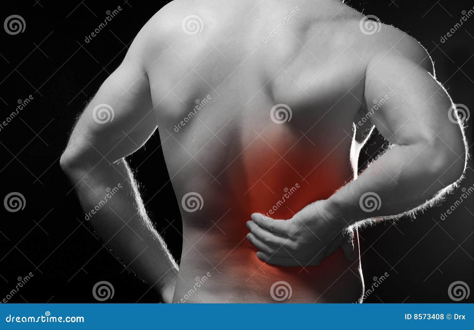 De douleur dos dedans