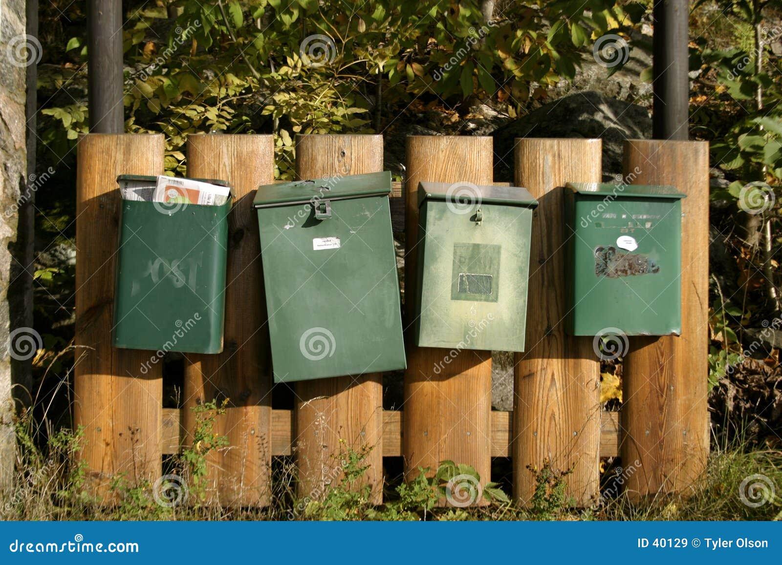De Dozen van de post
