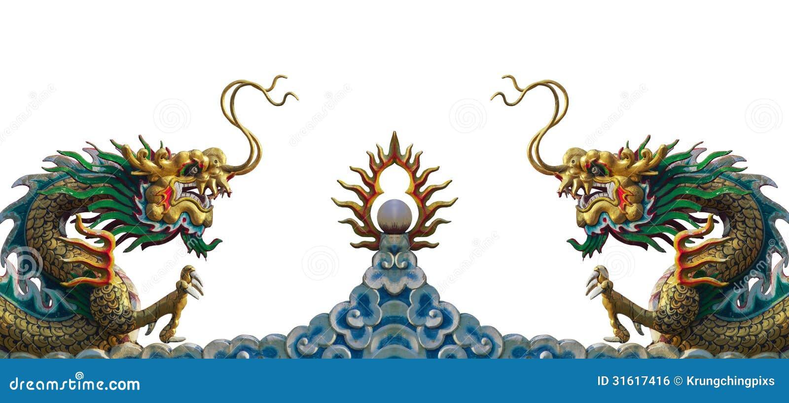 De draakstandbeeld van China