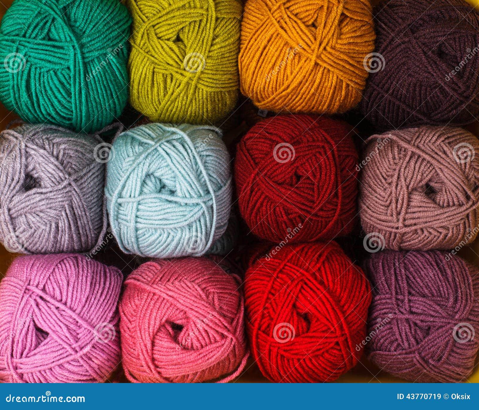 De draden van de kleur
