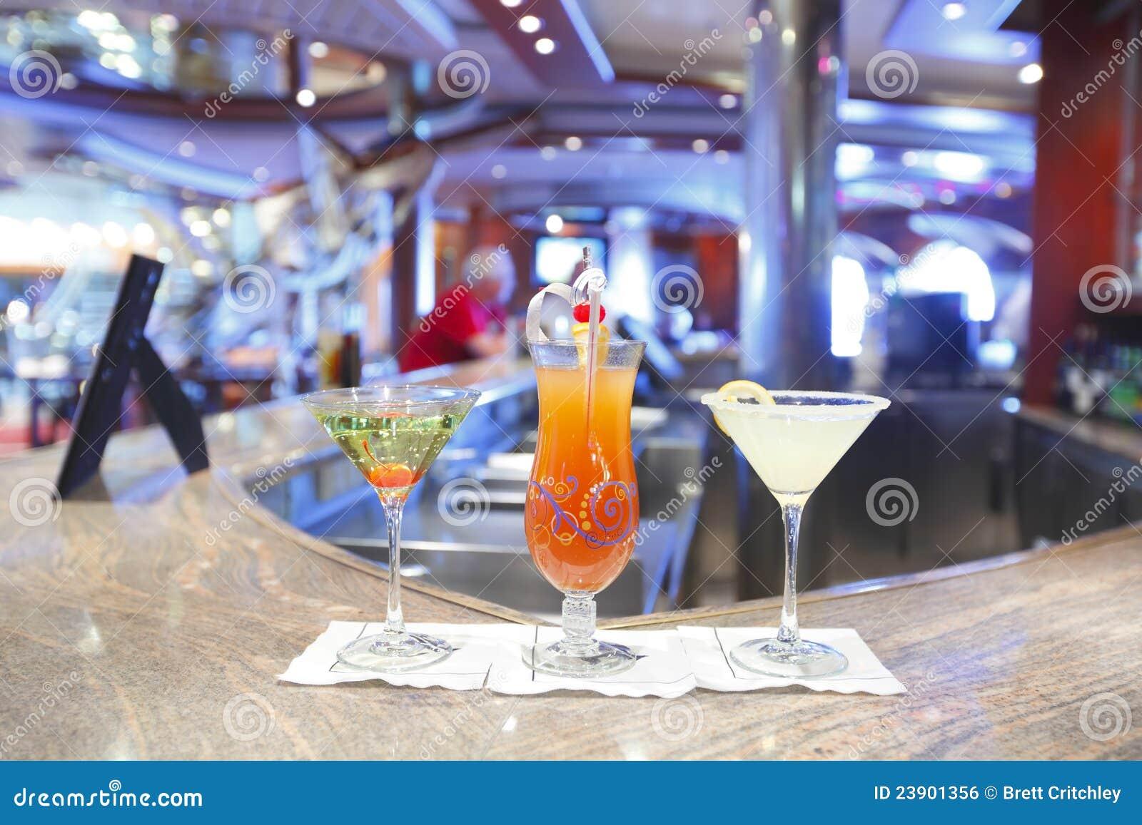De dranken van de cocktail