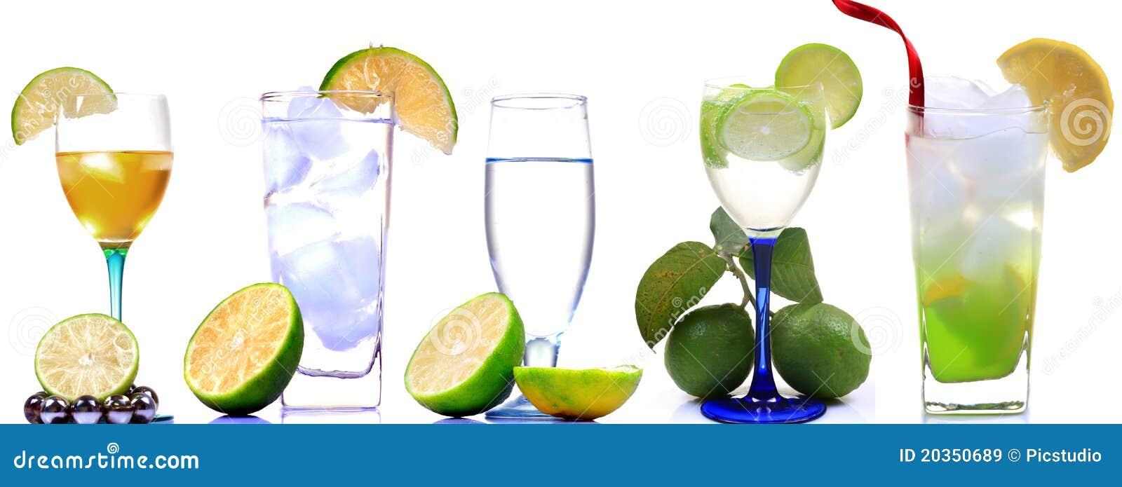 De dranken van de limonade