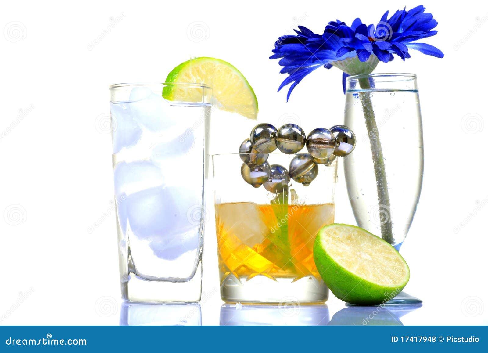 De dranken van de partij