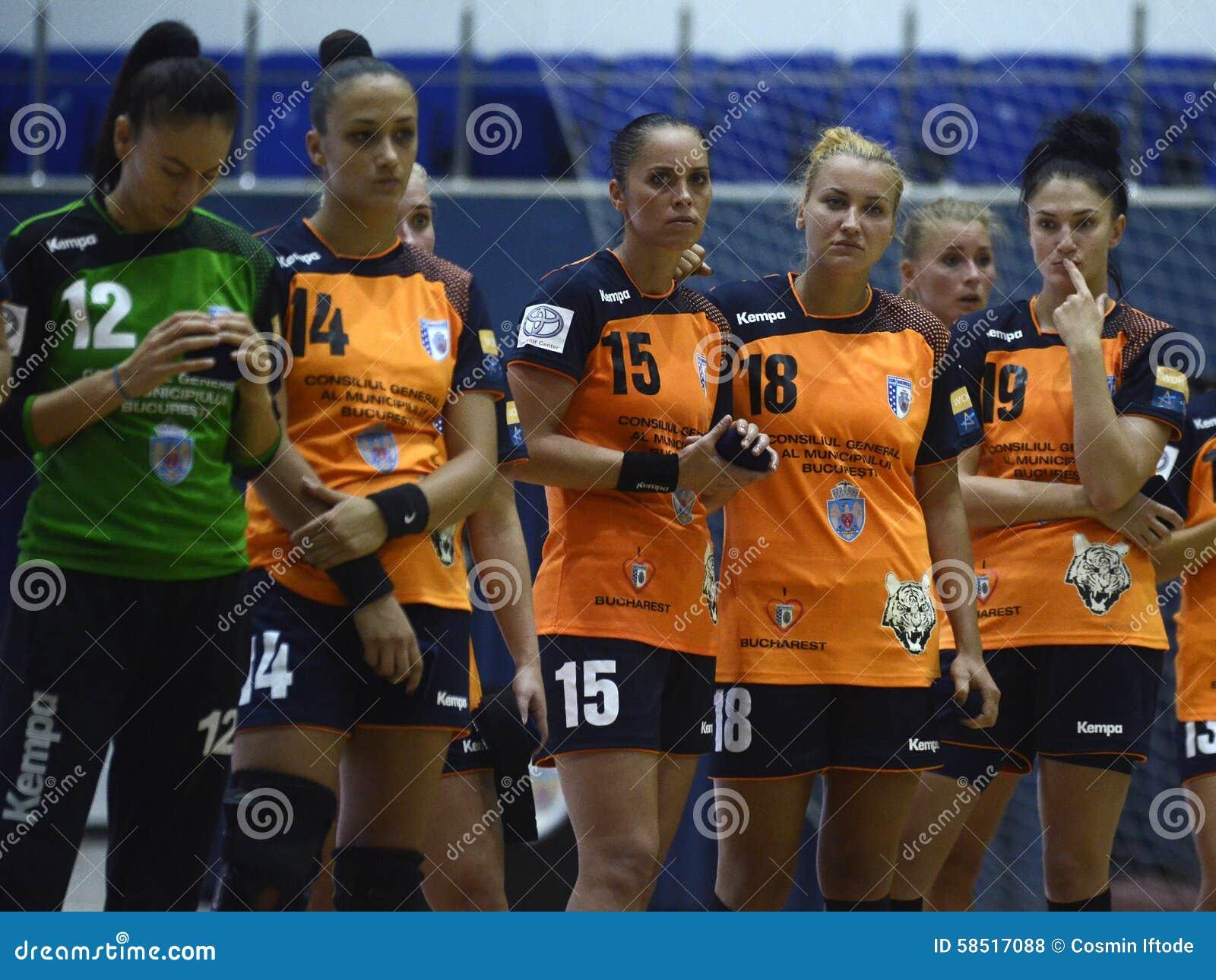 De droevige Spelers van het Vrouwenhandbal