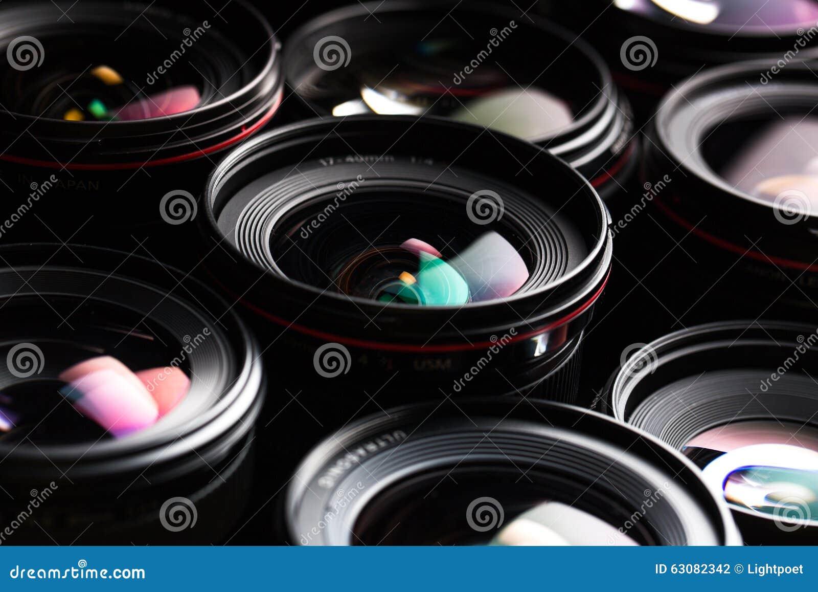 Download De DSLR D'appareil-photo De Llense Image Moderne Professionnelle De Clé Aïe Photo stock - Image du journaliste, lentille: 63082342