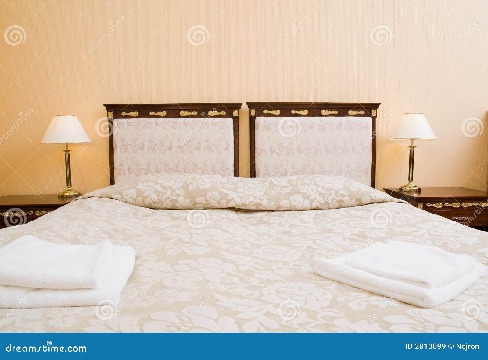 De dubbele ruimte van het hotel stock afbeelding afbeelding 2810099 - Ruimte van het meisje parket ...