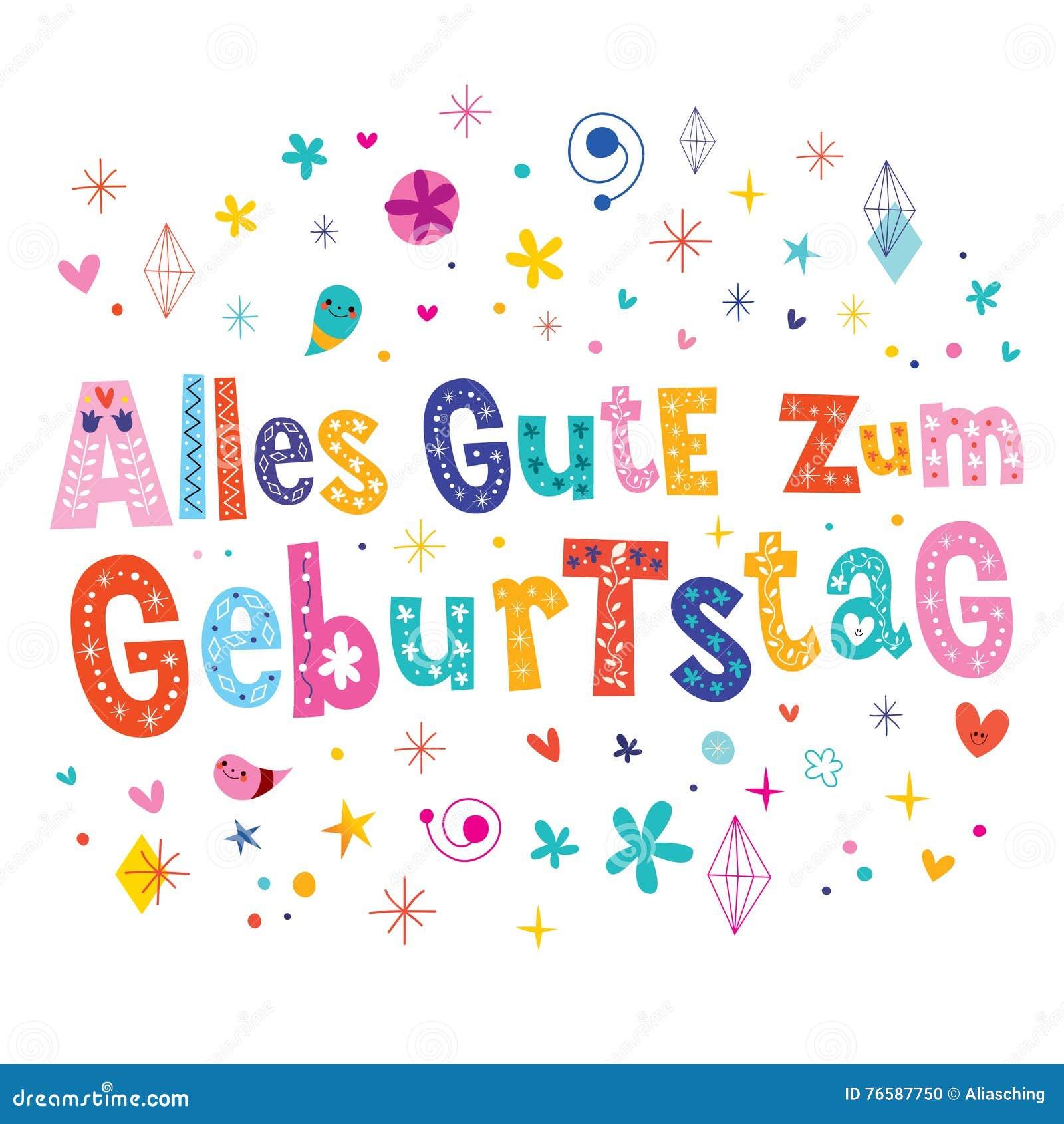 Duitse Verjaardag Verjaardag