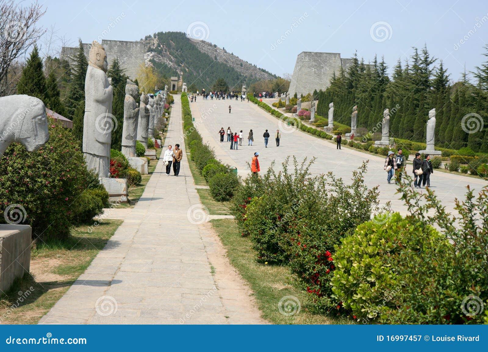 De dynastiegraven van Ming
