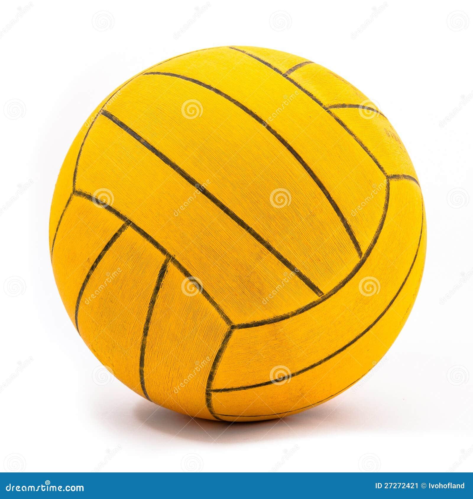 De echte en gebruikte bal van het waterpolo stock afbeelding afbeelding 27272421 - Sterke witte werpen en de bal ...