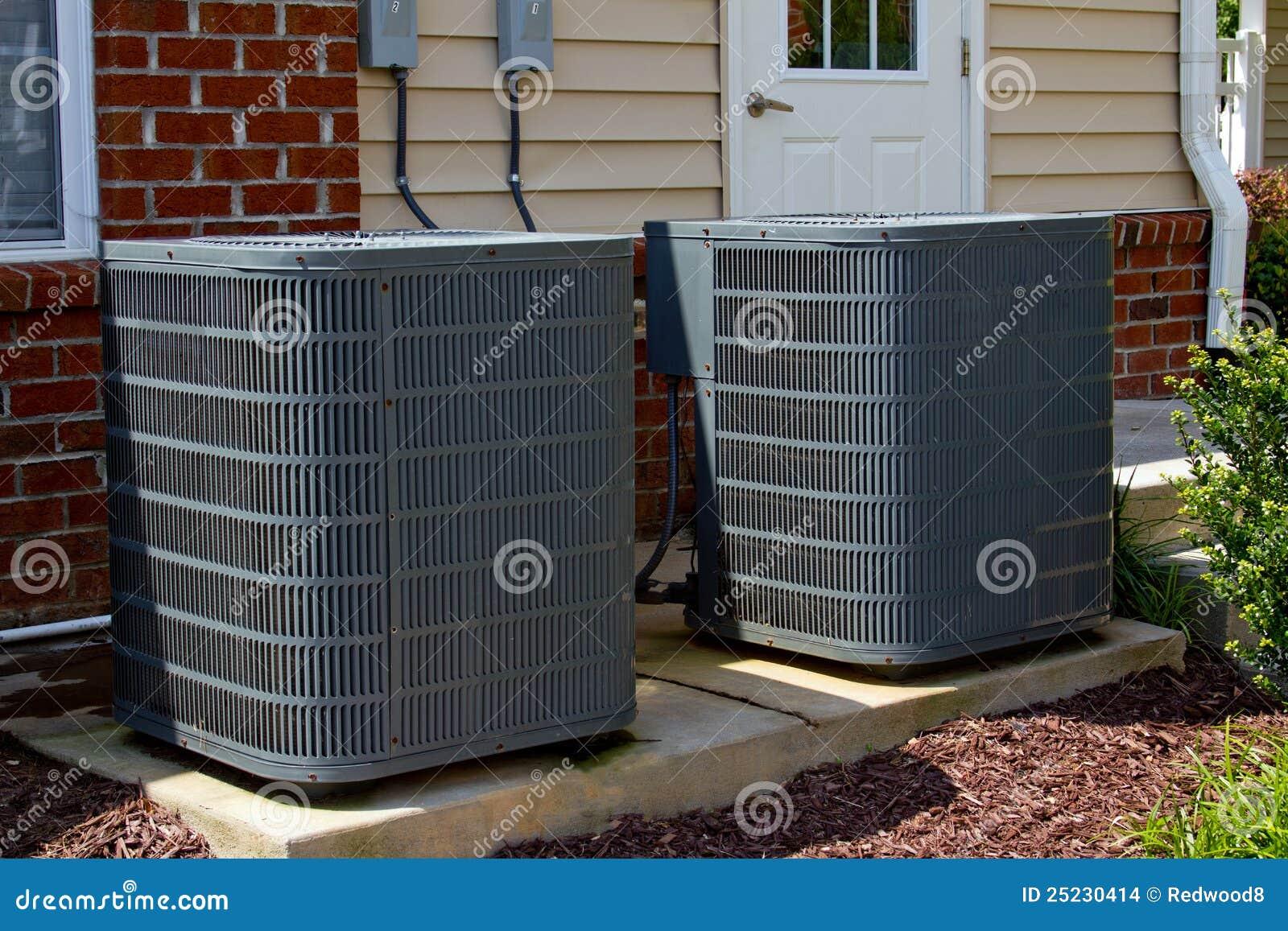De Eenheden van de airconditioning