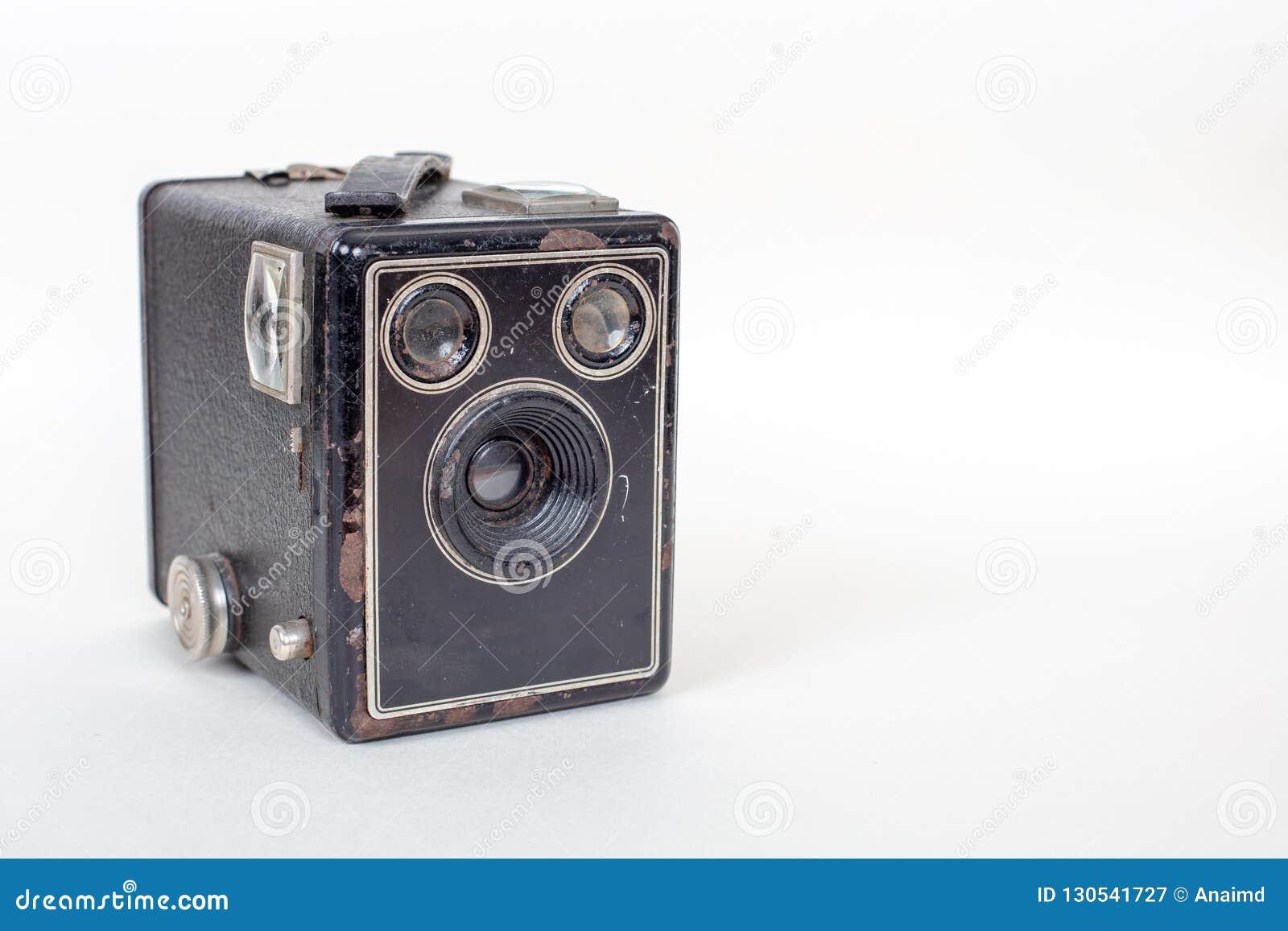 De eenvoudige en goedkope Basiscamera van de kartondoos