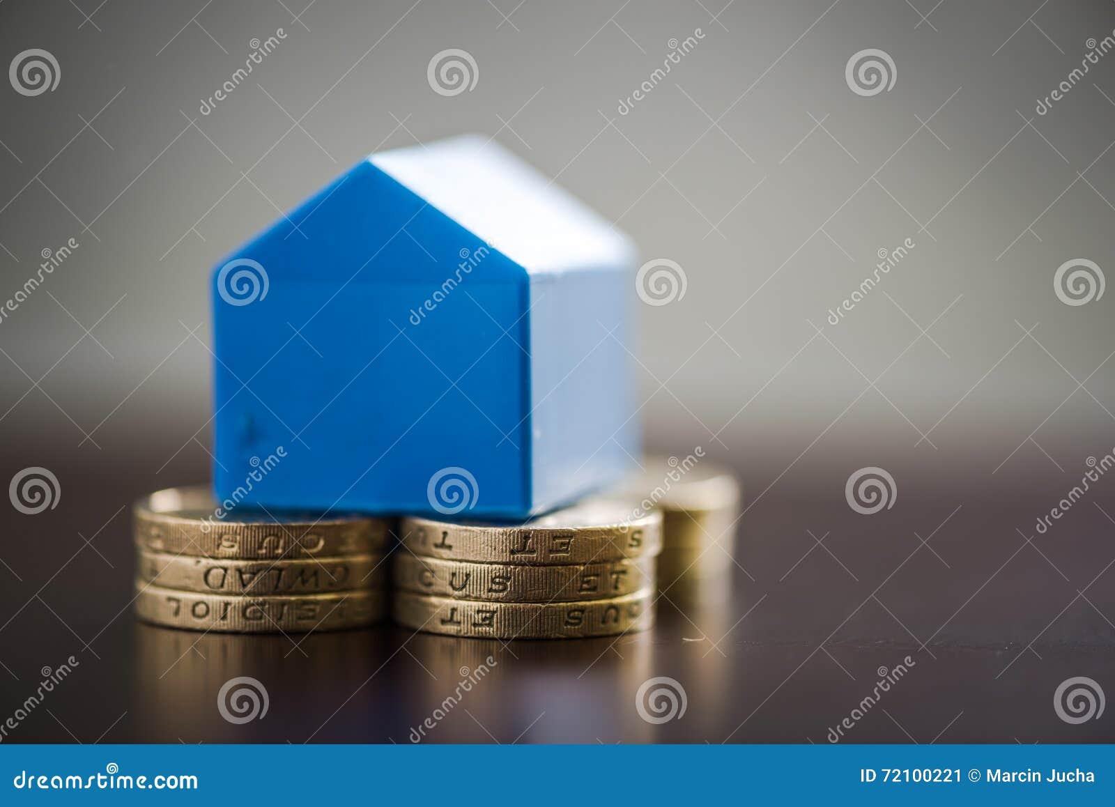 De eerste keer besparingen van huiskopers