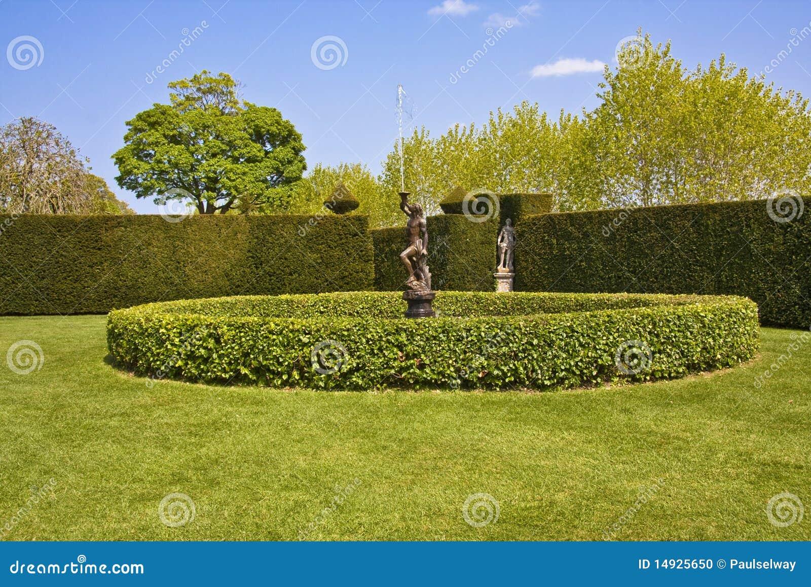 De eigenschap van de tuin stock foto afbeelding bestaande uit blauw 14925650 - Deco van de tuin ...