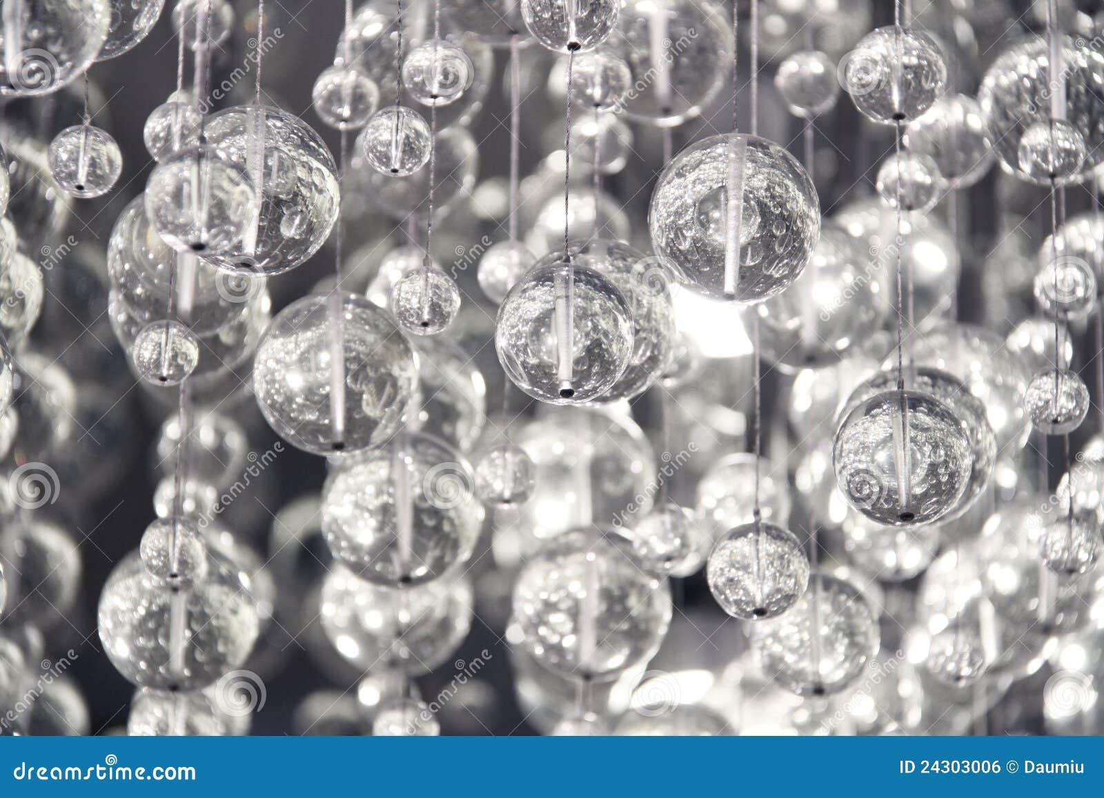 De eigentijdse decoratie van het kristal stock foto afbeelding
