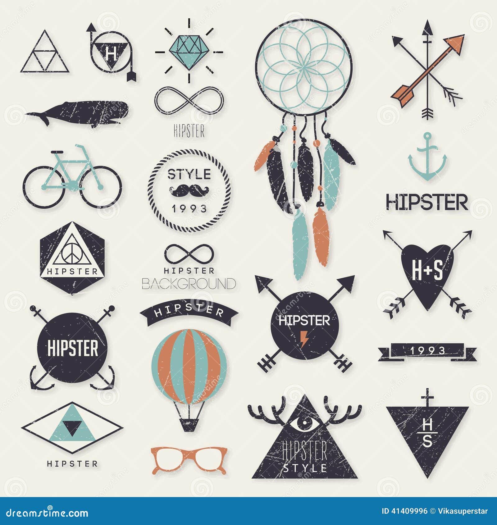De elementen van de Hipsterstijl