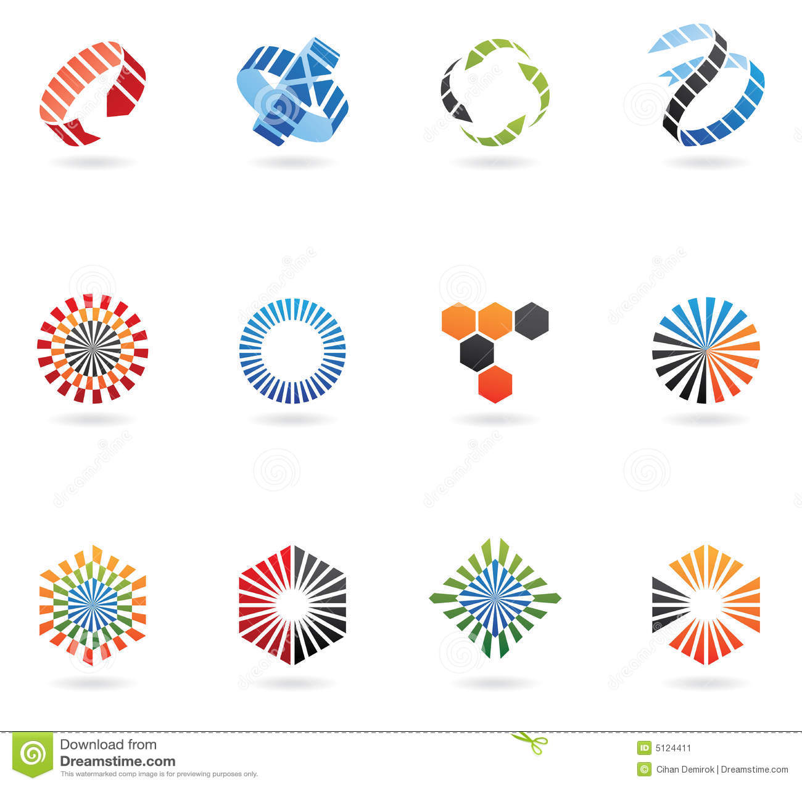 De emblemen van de pijl
