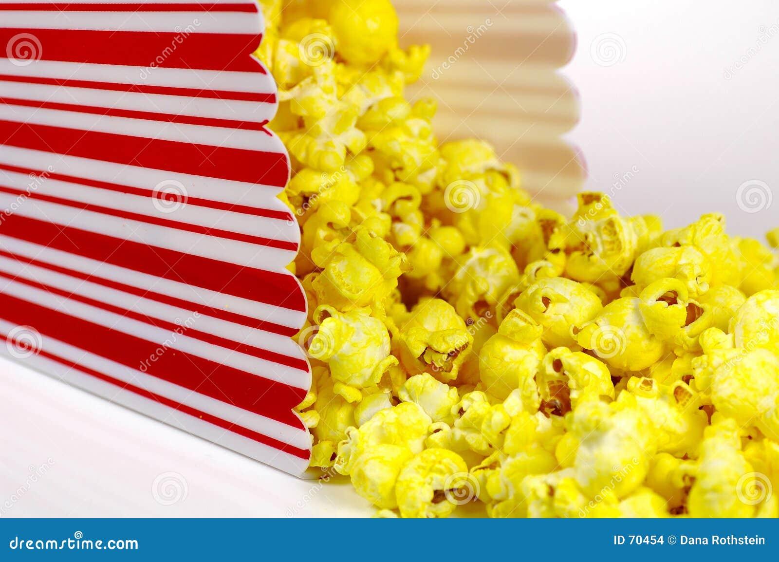 De Emmer van de popcorn