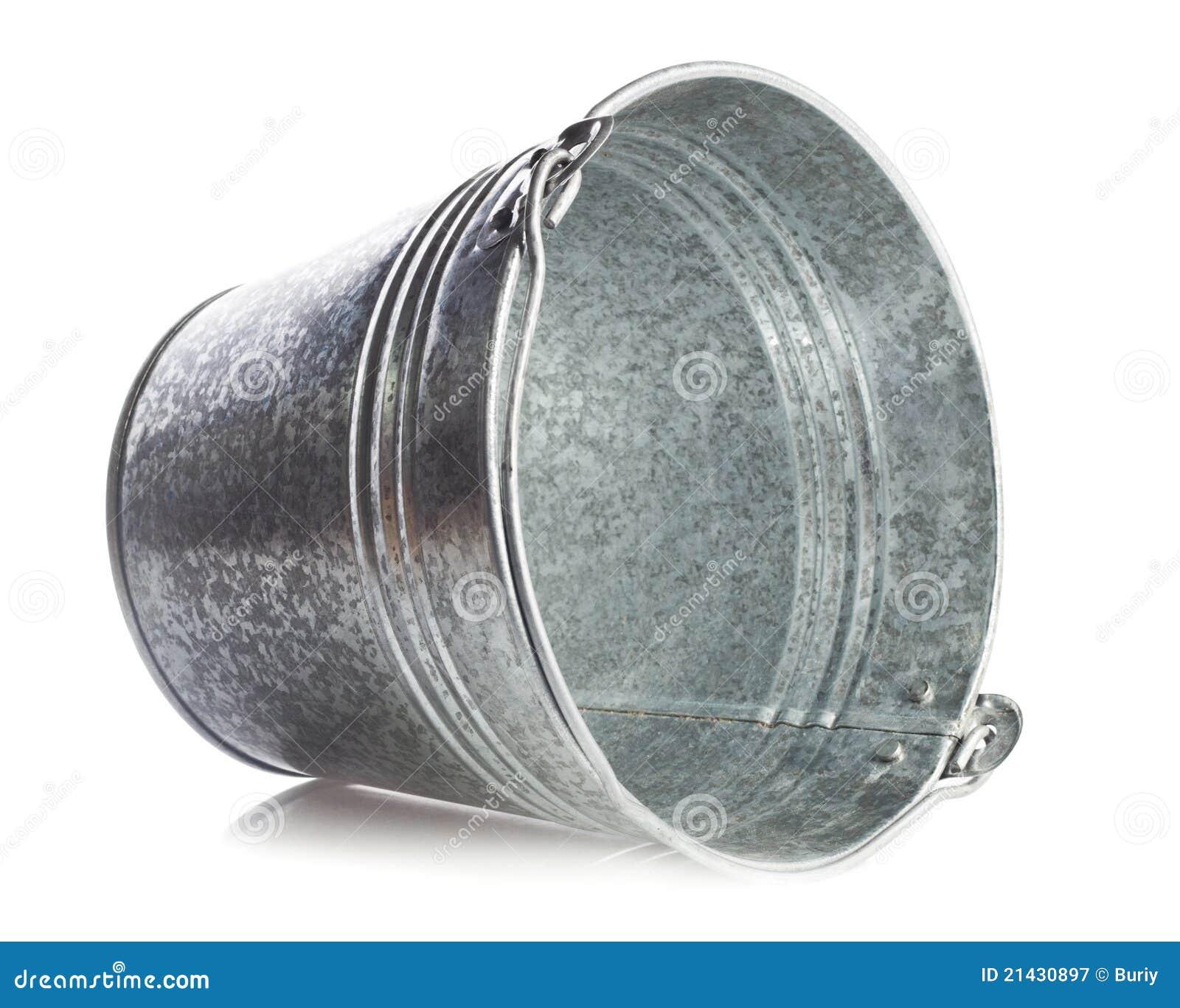 De emmer van het metaal