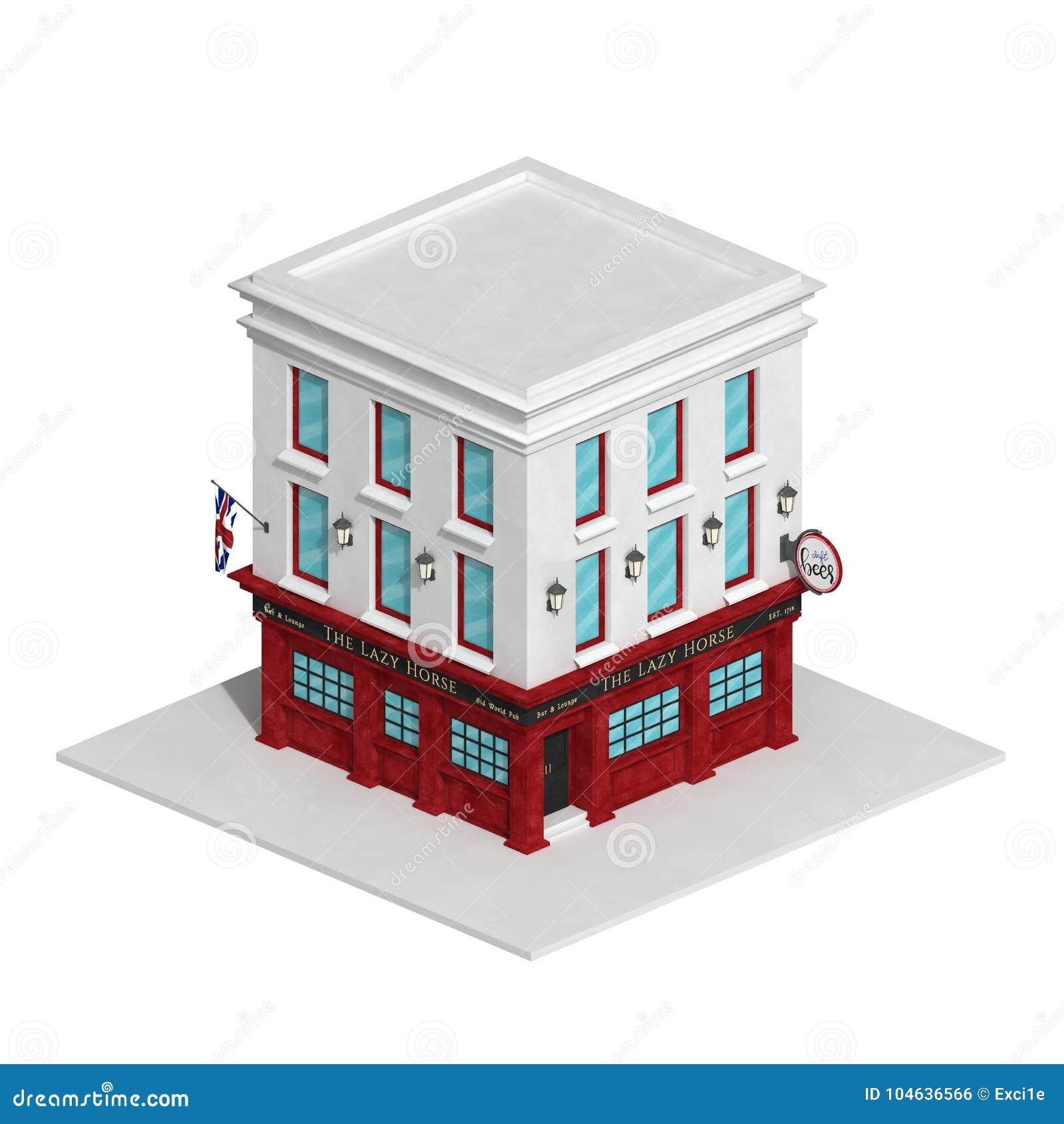 Download De Engelse Die Barbouw Op Witte Achtergrond Wordt Geïsoleerd Stock Illustratie - Illustratie bestaande uit openbaar, architectuur: 104636566