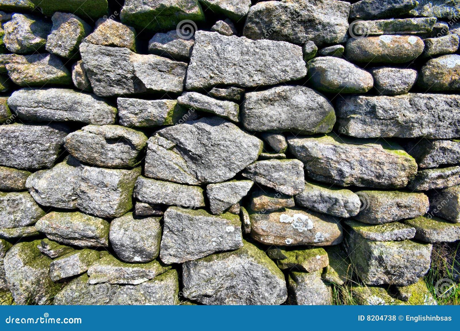De engelse muur van de droge steen royalty vrije stock foto's ...