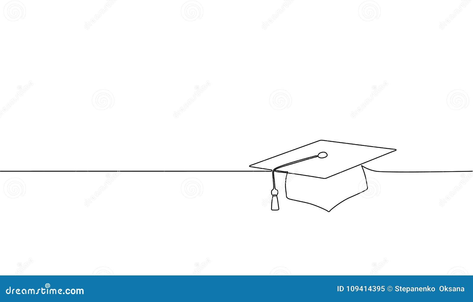 De enige ononderbroken graduatie GLB van de lijnkunst Van de het doctorale examenacademie van de vieringsceremonie gediplomeerd o