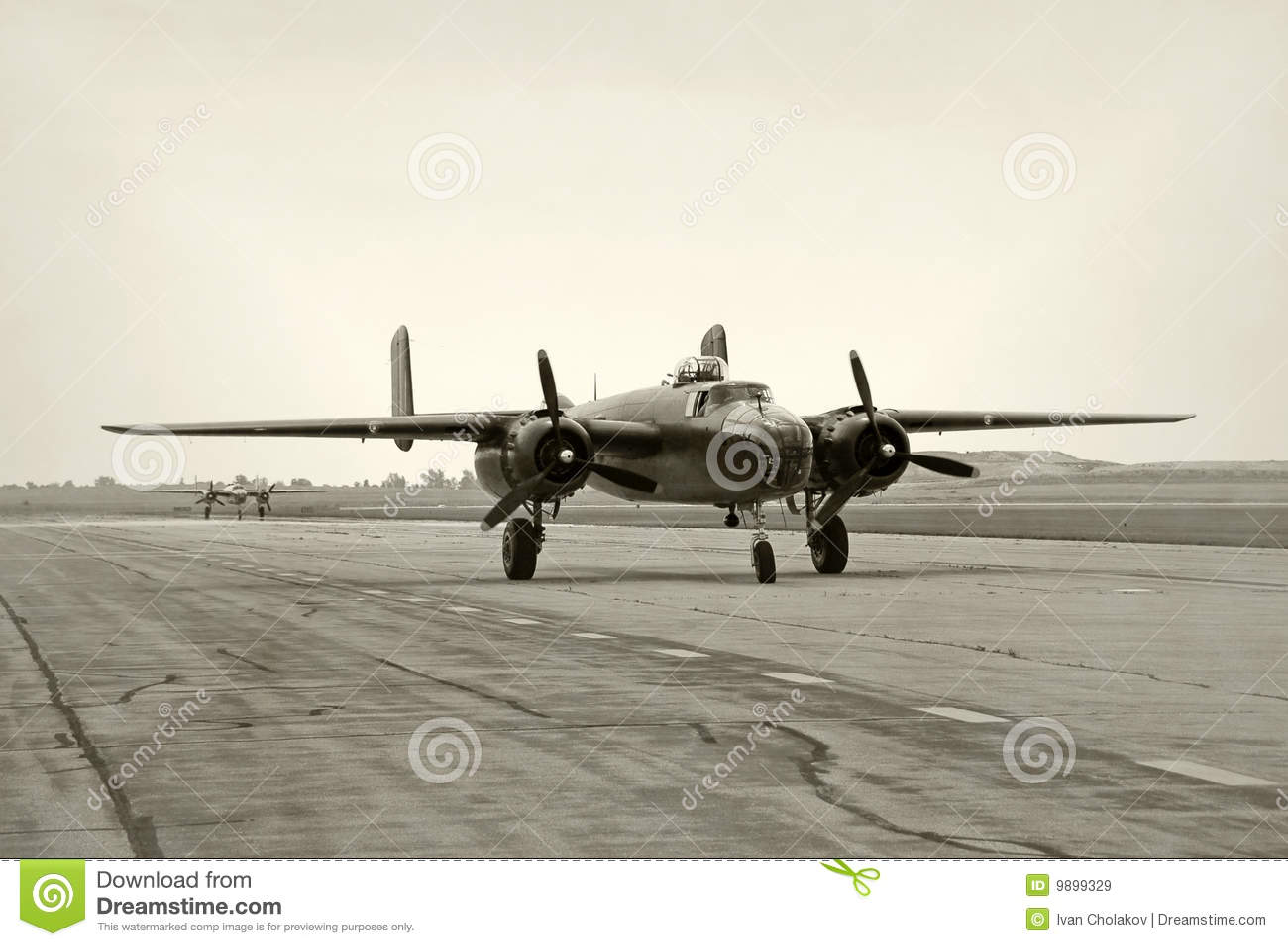 De erabommenwerpers van de Wereldoorlog II