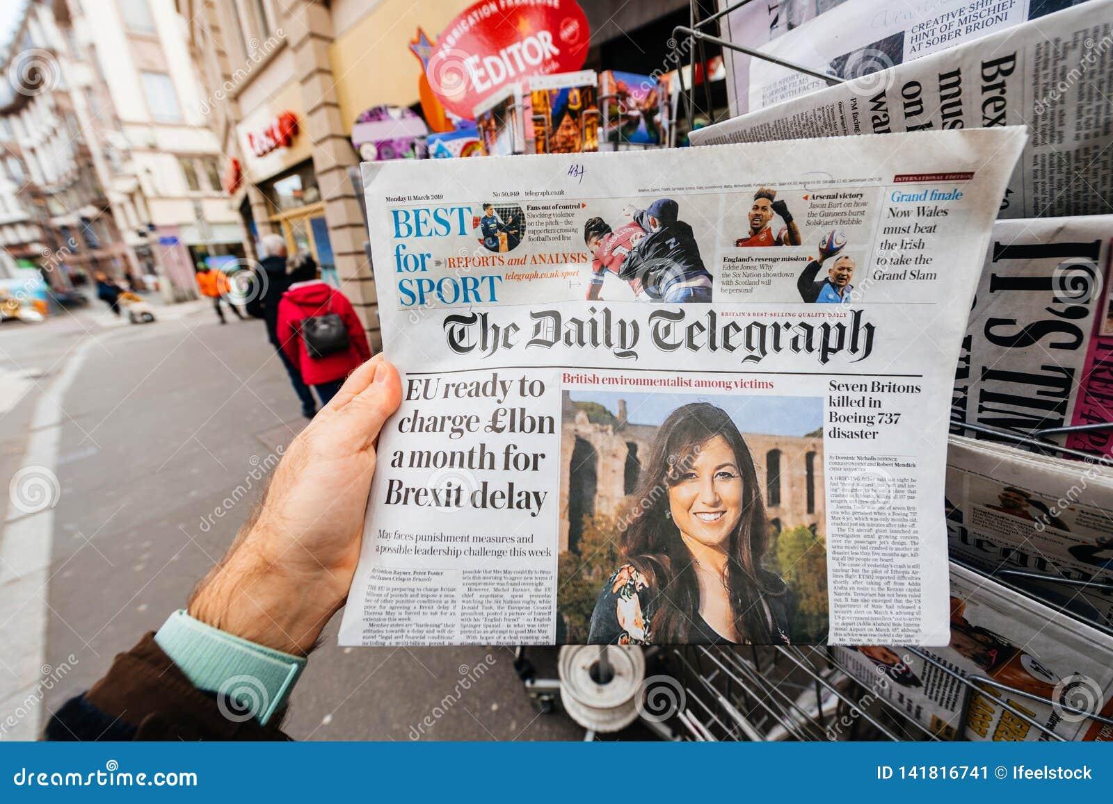 De EU aan klaar aan cahrge 1 miljard een mot voor Brexit-vertraging