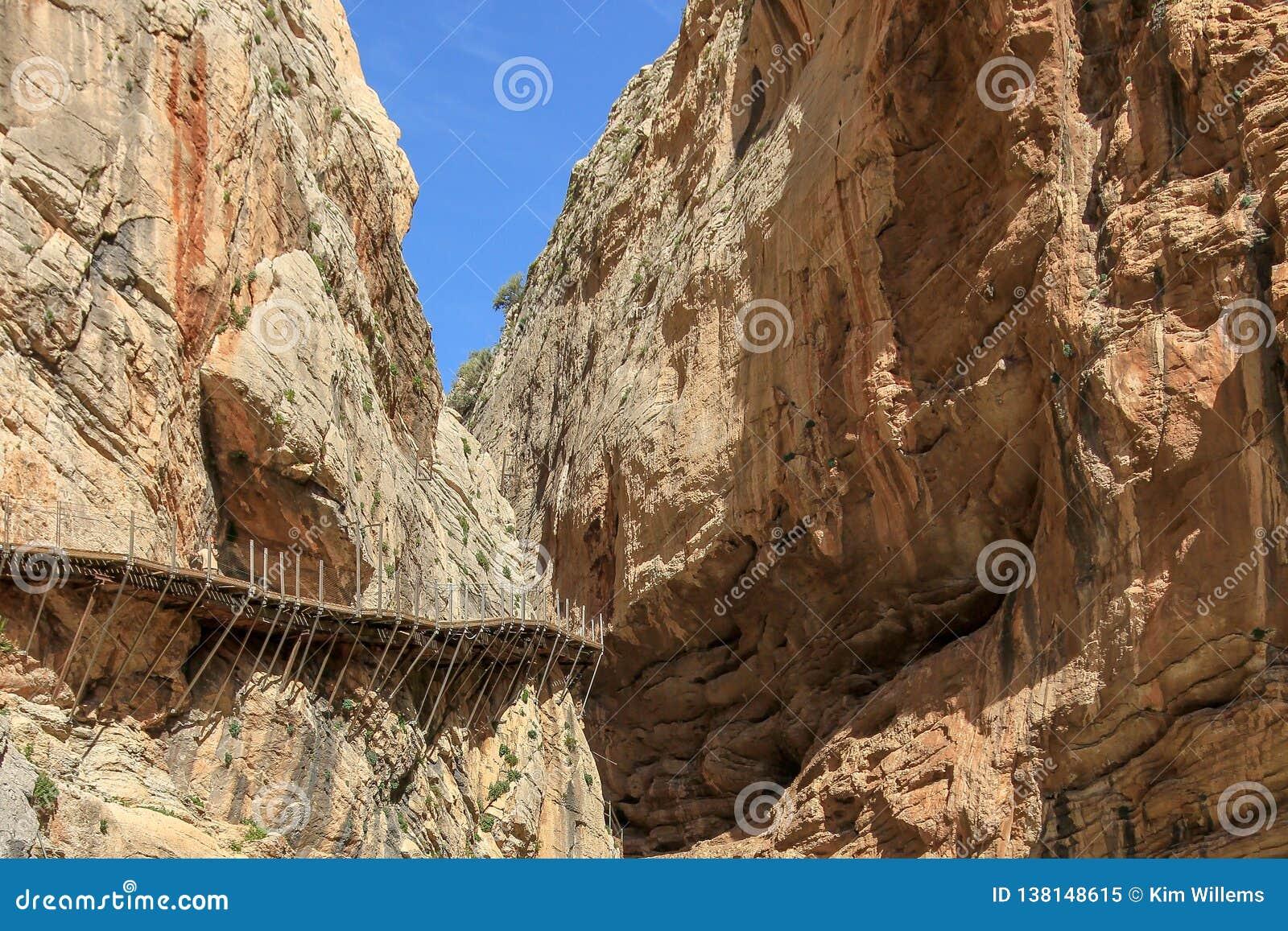 De Europese winnaar van de Kwakzalversmiddelentoekenning voor Camino del Rey