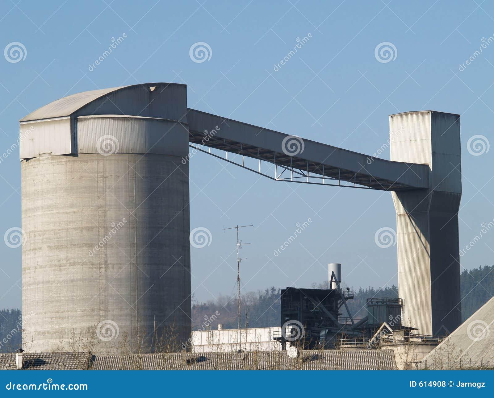 De Fabriek van het cement