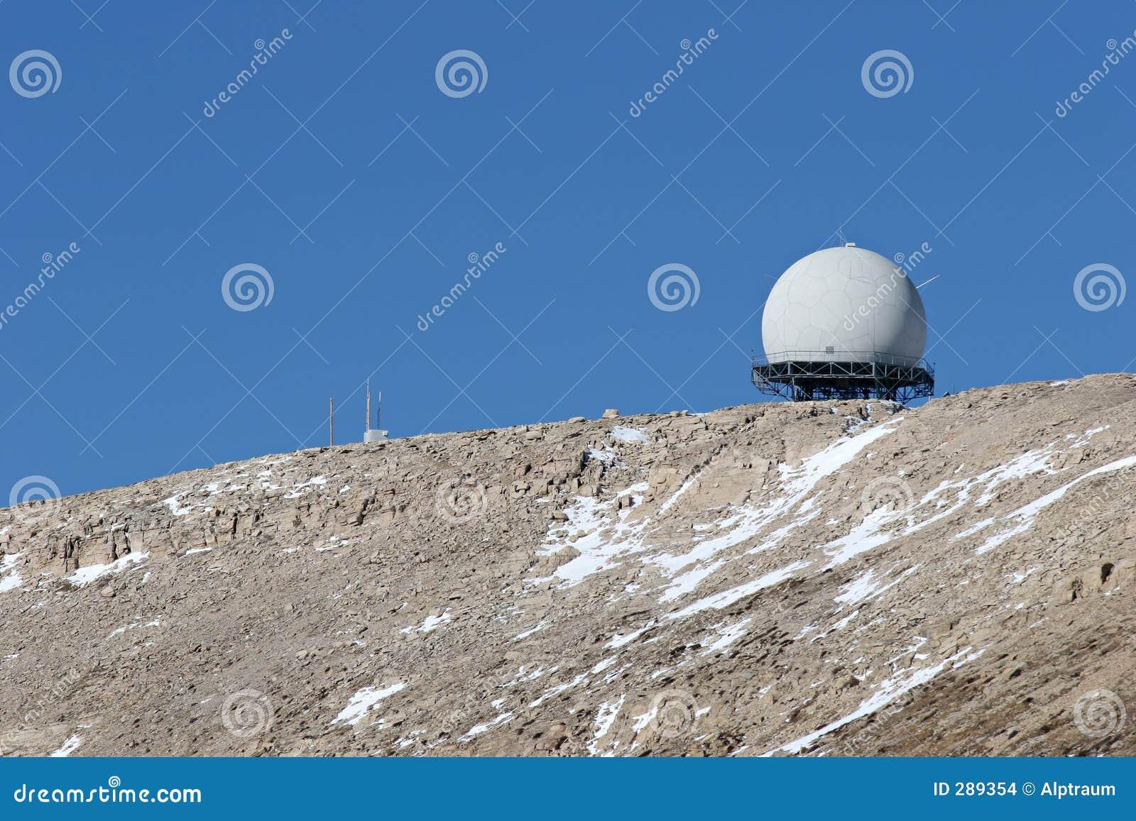 De faciliteit van de radar