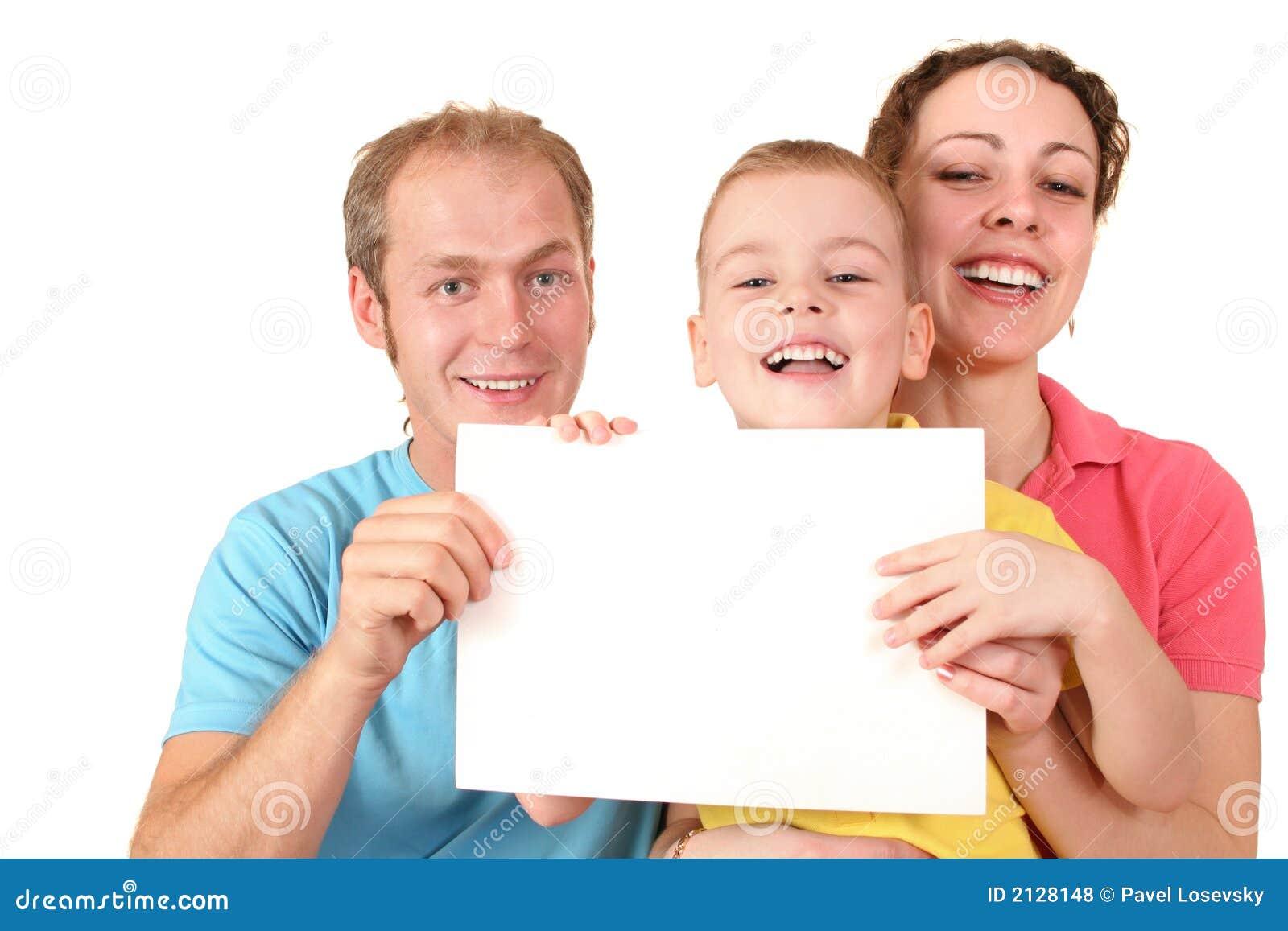 De familie van de kleur met kaart