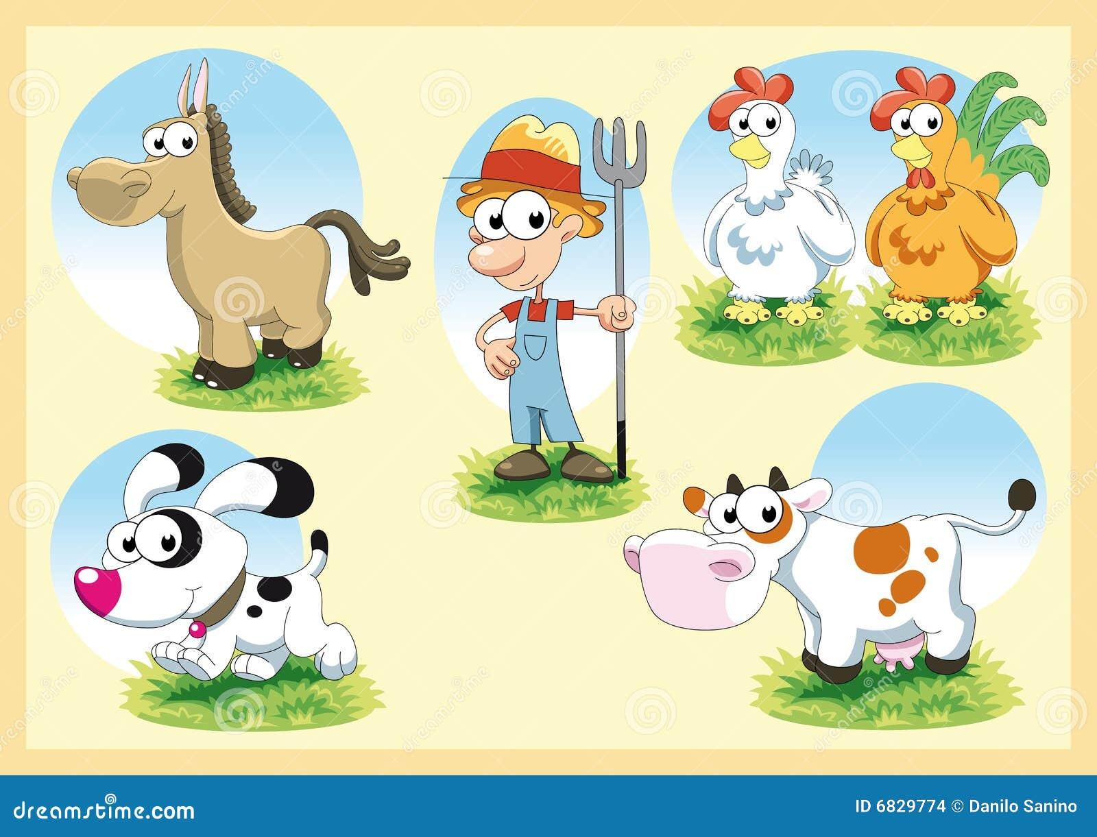 De Familie van het landbouwbedrijf