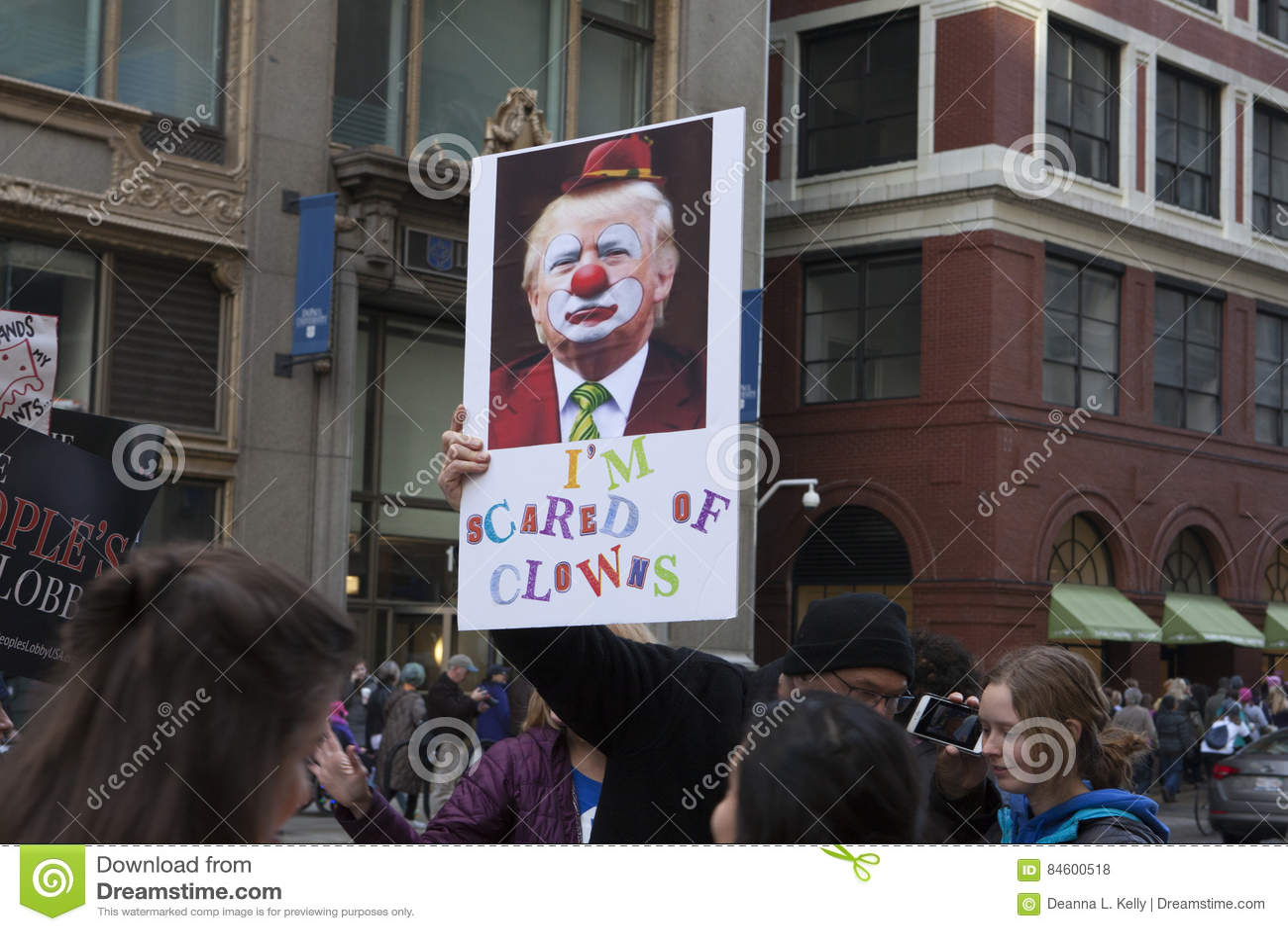 ` De femmes s mars sur Chicago 2017