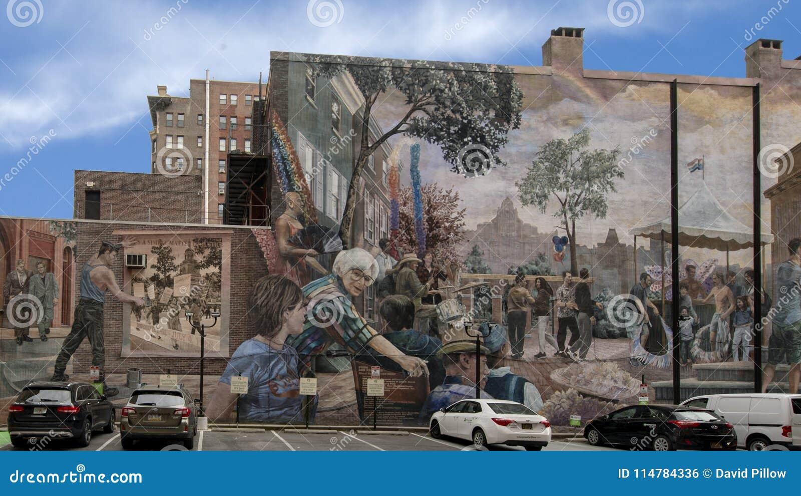 ` De fierté et de progrès de ` par Ann Northrup, Philadelphie, Pennsylvanie