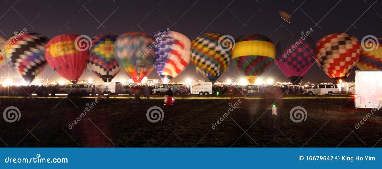 De Fiesta van de Ballon van Albuquerque