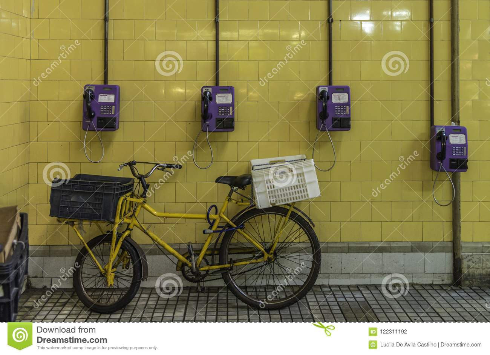 De fiets is Klaar voor de Volgende Levering