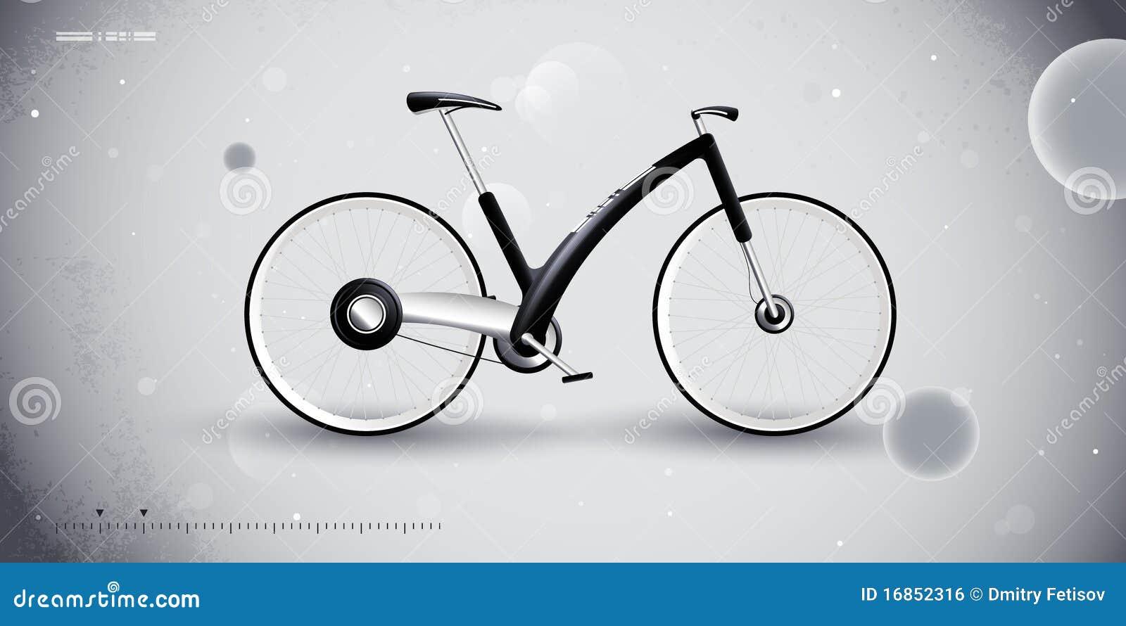 De fiets van het concept voor stedelijk vervoer. product