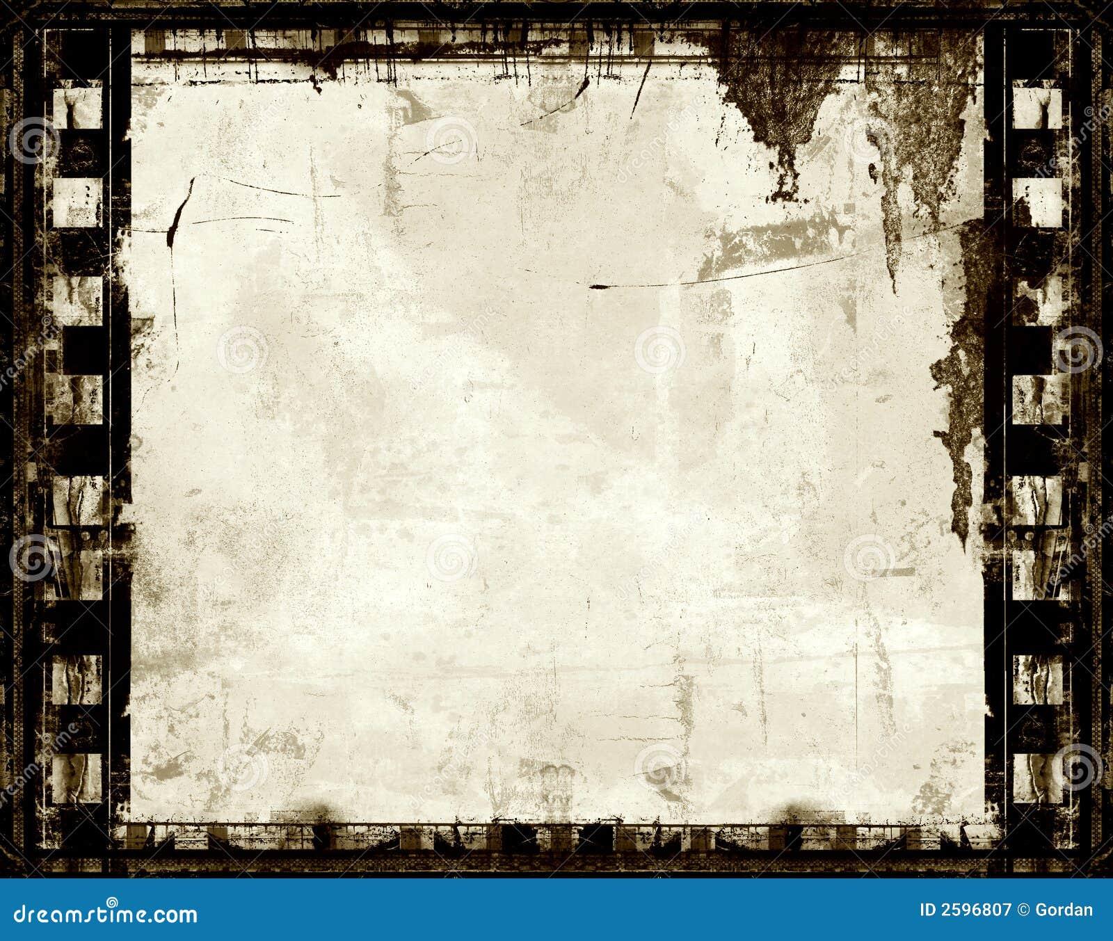 De filmframe van Grunge