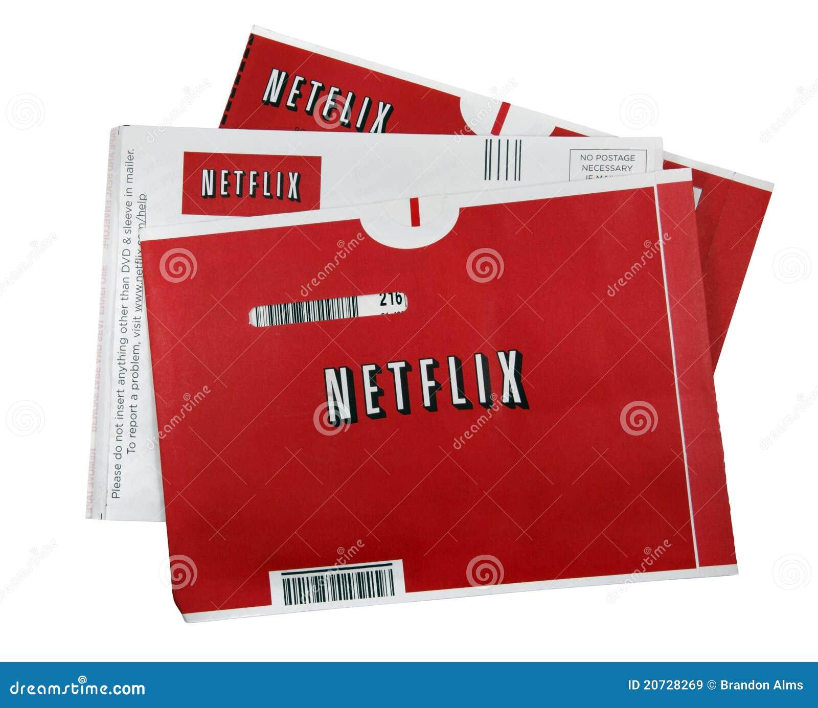 De films van Netflix