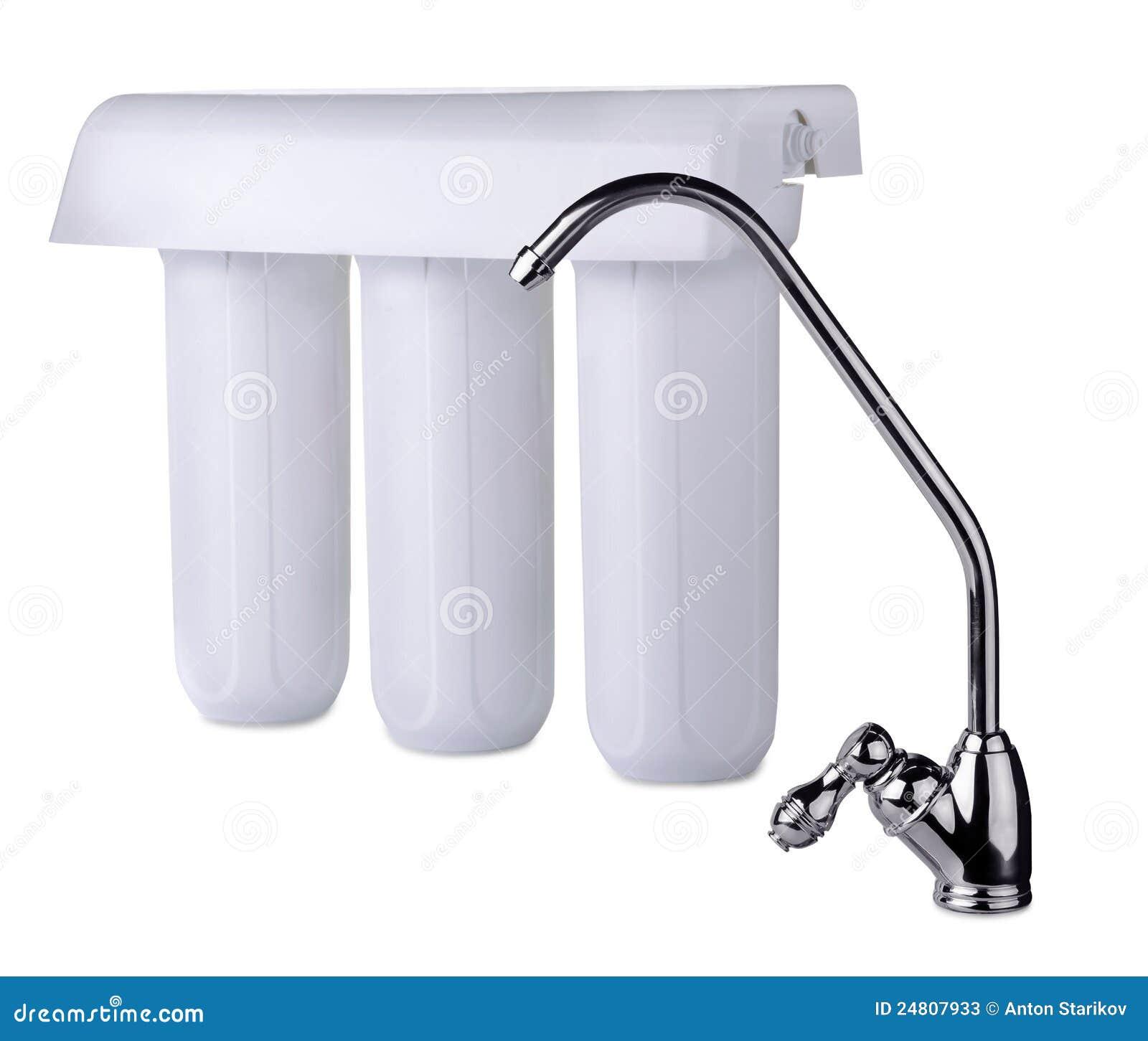 De filter van het water
