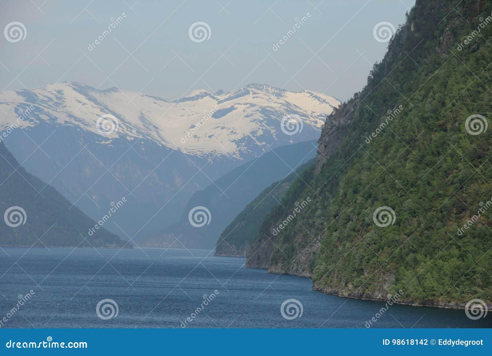 De Fjord van Geiranger