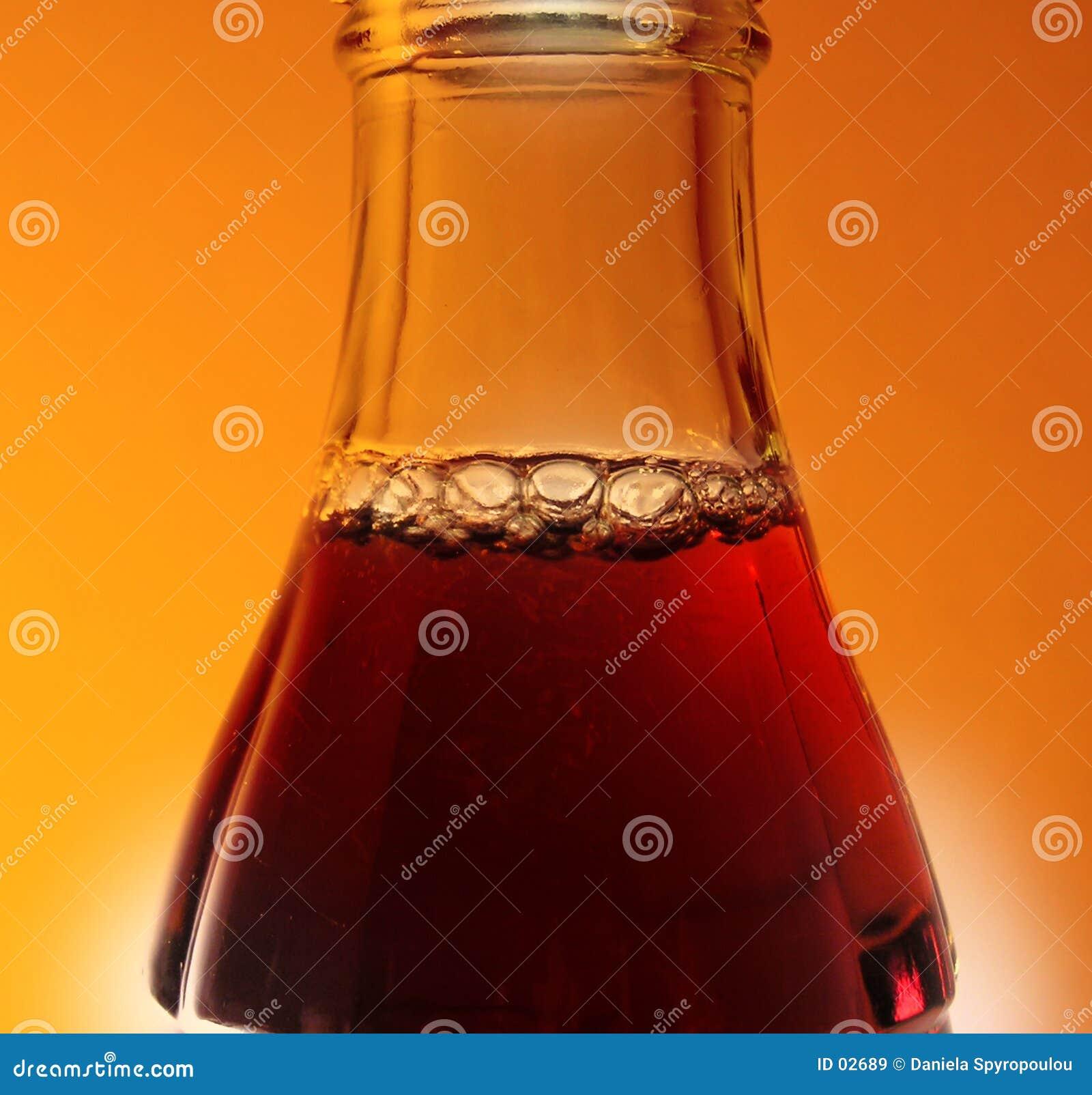 De fles van de cokes