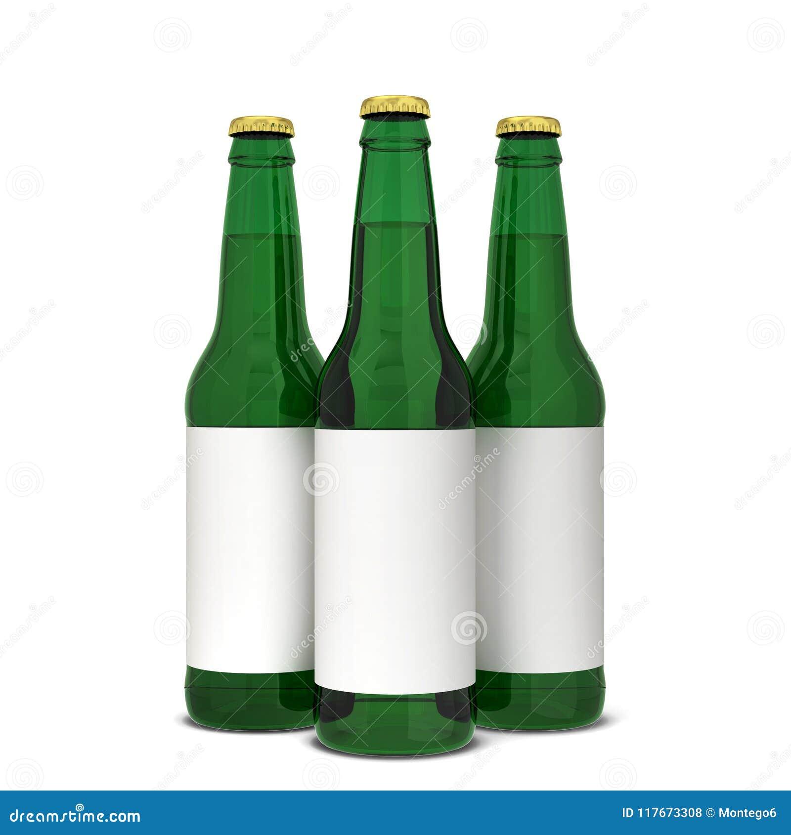 De fles van het bier