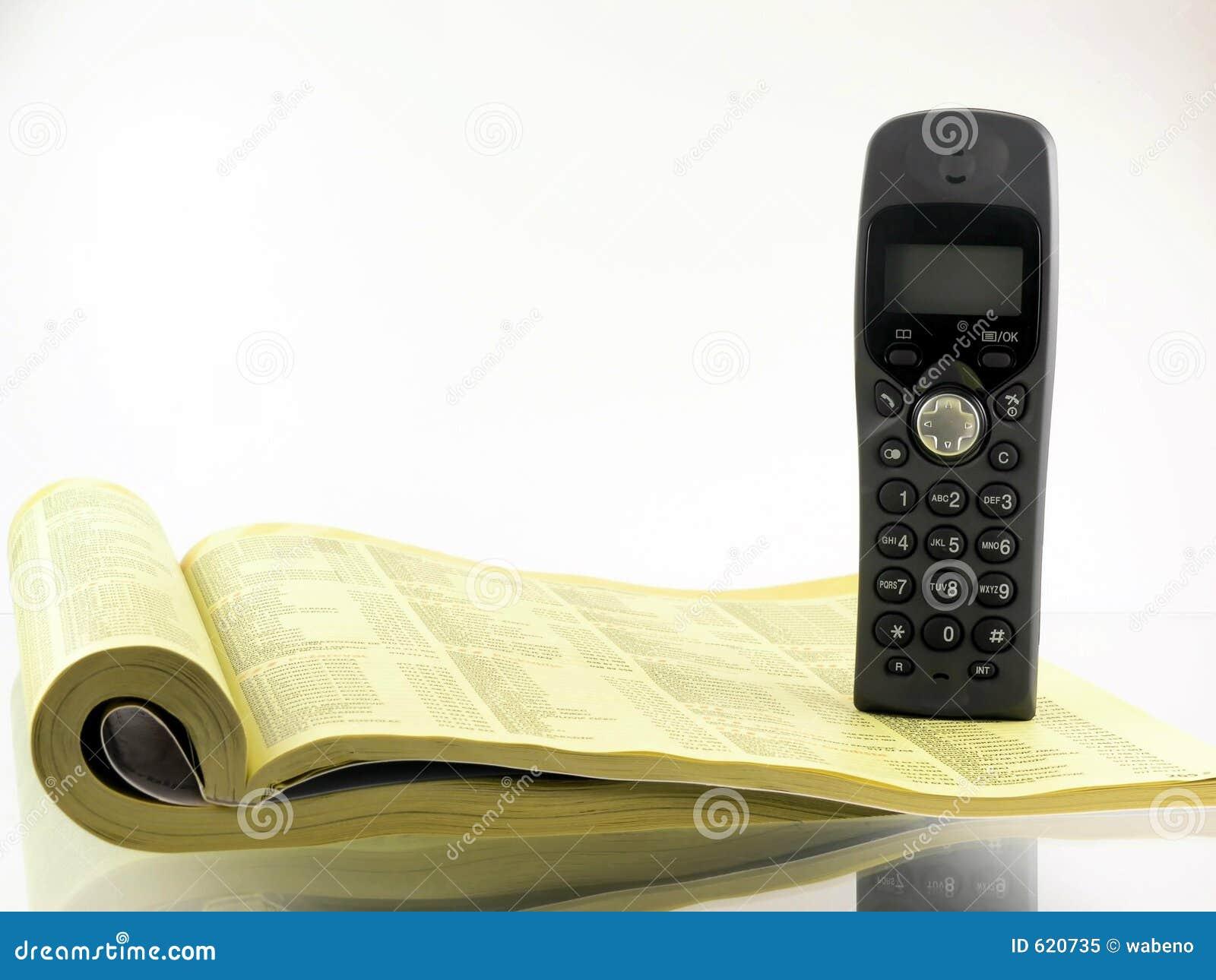 De folder van de telefoon